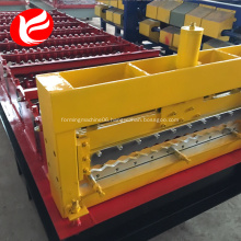Zinc colored steel corrugated roof roll forming machine
