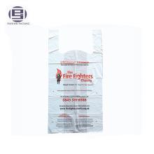 Vêtements de charité PE emballage sac pour les pompiers