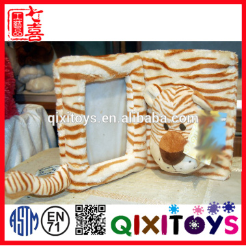 2015 new product plush animal shaped cute photo picture frame