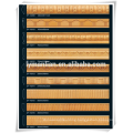 inlay design wooden door frame furniture use beech wood moulding