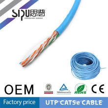 SIPU high quality spiral retractable coil network cat5e patch cable UTP network cable