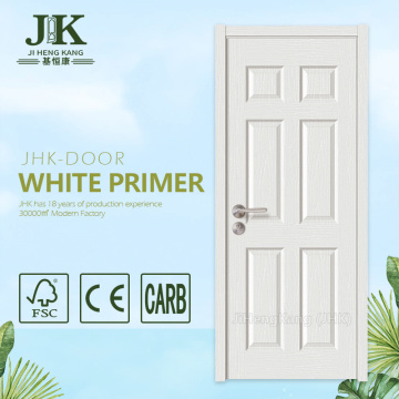 JHK-006 HDF Material Door Wood Lagging Door Swing Away Door Hinges White Primer Door