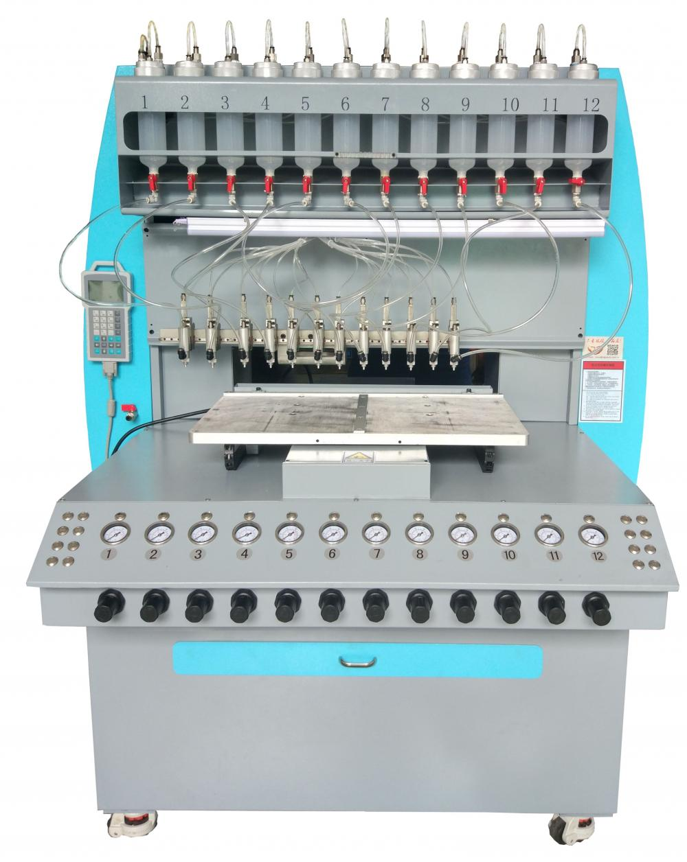 Dispensing Machine for Making Zipper Head