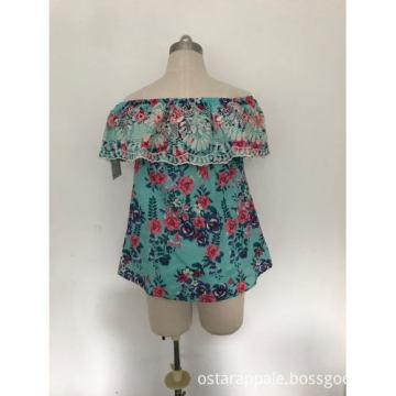 Custom Women's Blouse Crop Tops