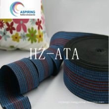 Strong Elasticity PP Synthetic Rubber Sofa Webbing 50mm