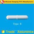 Barra de agitação magnética de PTFE em forma de arroz