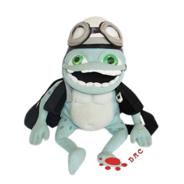 plush cartoon animation toy frog