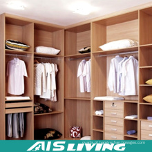 Armário durável do Wardrobe do quarto da L-Forma (AIS-W366)