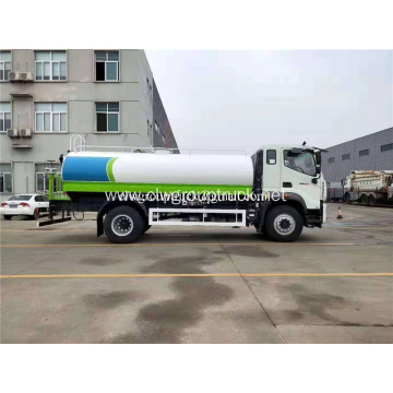 Foton 220hp14cbm cleaning water truck