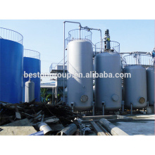 High efficiency oil refinery crude oil refinery machine with CE ISO