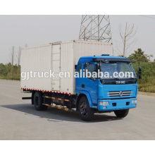 Dongfeng brand 4X2 drive van truck for 3-18 cubic meter