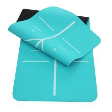 Rubber Jute Tpe Yoga Mat For Exercise  Anti Slip Rubber 100% Tpe Yoga Mat