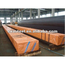 Tubo rectangular galvanizado MS