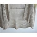 Длинный рукав Opean узорный вязаный джемпер для дам