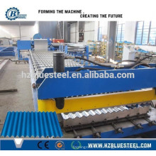 Corrugated Corrugation Water Wave Color Coated Tile Roll Forming Machine