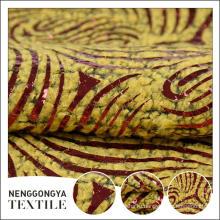 Высокое качество высокое качество мода Бронзировать итальянский твид ткань