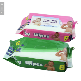 Desain Baru 80PCS Packing Baby Wet Wipes
