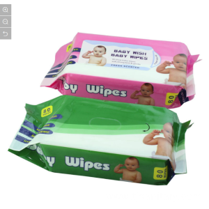 New Design 80PCS Packing Baby Wet Wipes