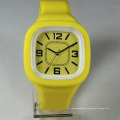 Hot selling lady hand color japan movement alarm with child