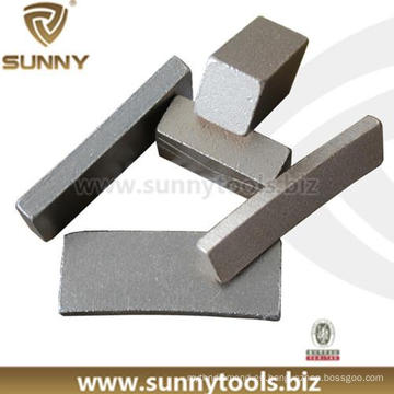 Segmento de diamante Segmento de corte de la sierra (SN-8)