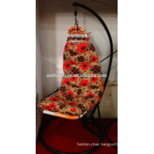 New design cloth rattan swing chair