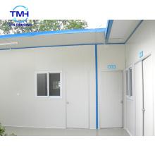 Conception de maison en tôle de fer métallique personnalisée de qualité supérieure