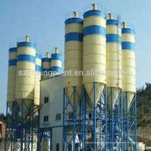 Venta caliente HZS180 pequeña planta de mezcla del cemento