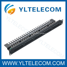Cat.3 voix Patch Panel 25port 1U 19 pouces