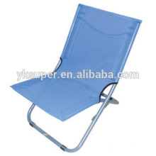 Popular cadeira de praia dobrável / espreguiçadeira / espreguiçadeira atacado
