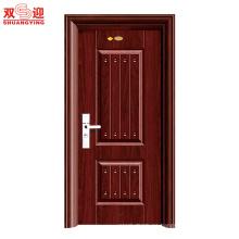Precio de puerta de acero inoxidable de precio bajo de puerta de acero de china de diseño moderno de lujo