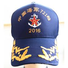 Soldados alto temperamento de casquillos deportivos militares bordados