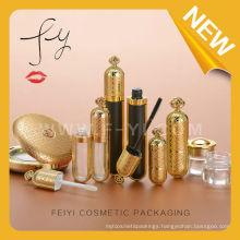 Hot! Luxury Golden Full Cosmetic Packaging