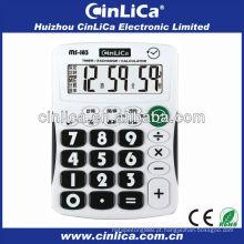 Calculadora de botão de plástico / 8 dígitos grande calculadora de exibição MS-183