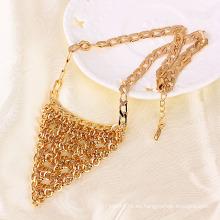 Xuping Charm Collar De Oro Chapado En Oro