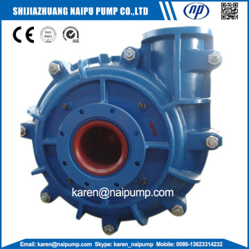 10/8 F-AH Metal Lined Pump Slurry yang mendatar