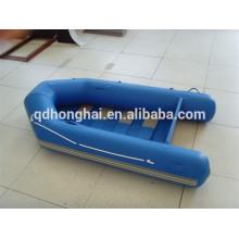 pas cher Chine pvc bateau 2,7 m lamelle étage bateau gonflable avec ce