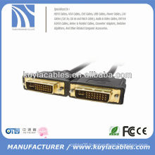 FOR HDTV DVI 25PIN CONNECTOR MALE TO MALE CABLE