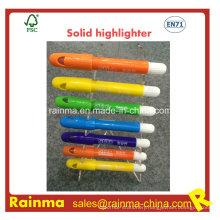 Factory Wholsale Solid Fluorescent Highlighter Pen