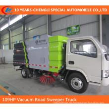 6Wheels Straßenkehrmaschine LKW 95HP 2CBM Straßenkehrmaschine