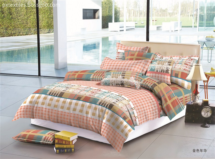 Printed Bed Set