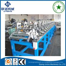 Máquina formadora de rollos de tiras metálicas