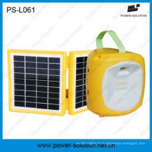 СИД Солнечный располагать лагерем фонарик с мобильного телефона зарядное устройство для кемпинга или чрезвычайных