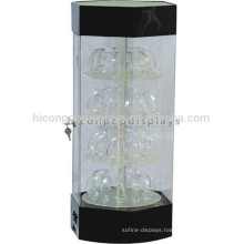 Retail Watch Store Counter Top Acrylic Pocket Wrist Watch Display Stand