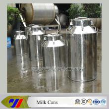 Edelstahl-Fässer mit Wasserhahn