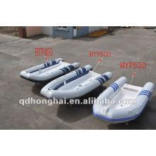 Hypalon oder pvc Schlauchboot rib390