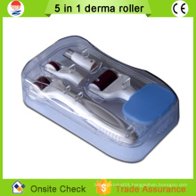 2015 beauty machine home use microneedle 5 in 1 derma roller price