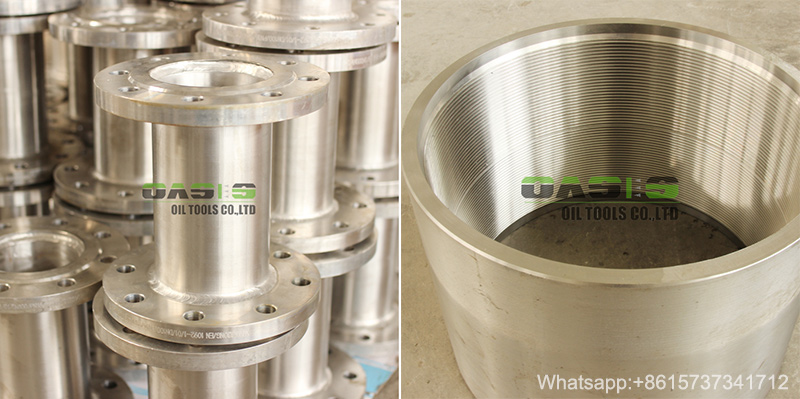 Api Casing Pipe Flange Thread End