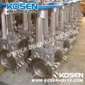 Kosen Stainless Steel Knife Gate Valves (PZ73)