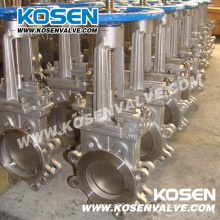 Kosen Stainless Steel Knife Gate Valves (PZ73)