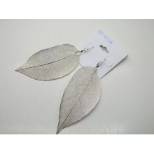 Silver Leaf Ohrringe Modeschmuck